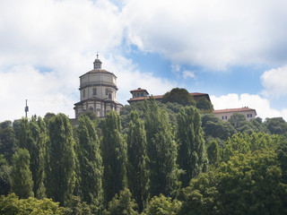 Capucin Monastery above the City of Turin in Northern Italy