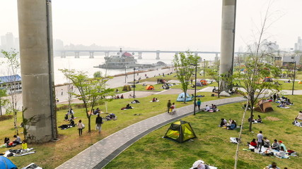 Seoul Downtown Watefront Park 521