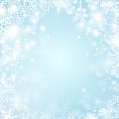 Winter Hintergrund Schnee blau