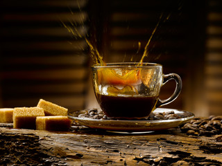 caffe' e zucchero di canna