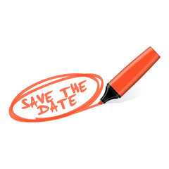 textmarker save the date I