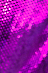 Sparkly fabric
