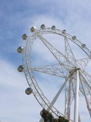 The Melbournestar observation wheel in Melbourne in Australia
