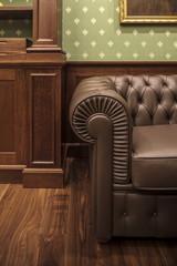 Old fashioned  sofa Home Interior