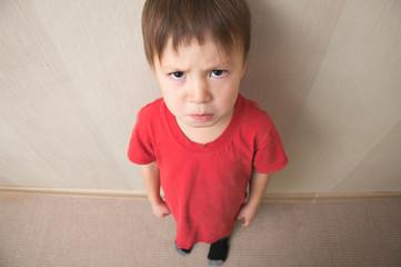 Evil boy underarm