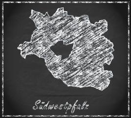 Karte von Suedwestpfalz