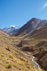 camino al aconcagua