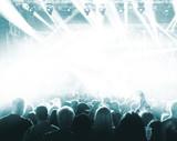 Fototapety Concert Crowd