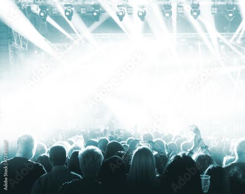 canvas print picture Concert Crowd