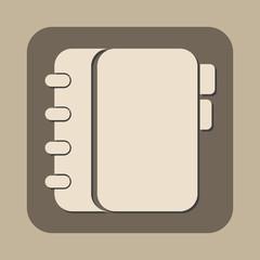 personal organizer vector icon