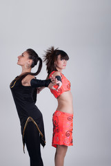 Dance Teacher teen student and dance activities