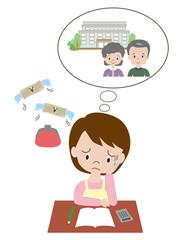 高齢の親の心配