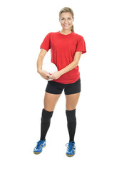 Inside volleyball woman