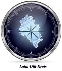 Karte von Lahn-Dill-Kreis