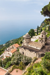 View from Villa Rufolo in Ravello village