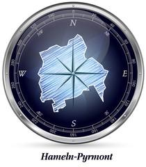 Karte von Hameln-Pyrmont