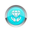 Glossy Vector Icon - 72696657
