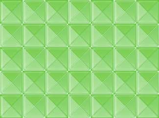Topview of a green pattern
