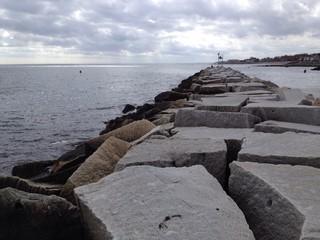 protective harbor wall