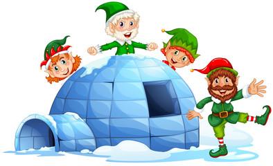Igloo and elves