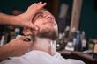 Leinwandbild Motiv professional  hairdressing salon