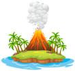 Volcano island - 72699278