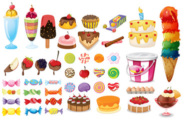 Dessert collection