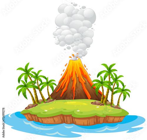 Wyspa wulkanu