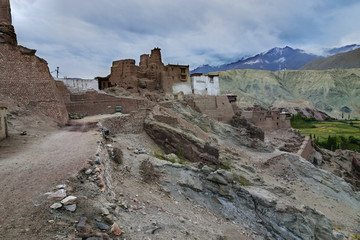 Basgo Monastery in Basgo, Ladakh, India