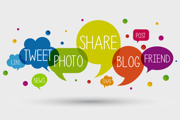 Web, app, social network