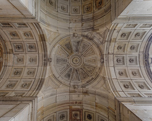 vintage dome ceiling, Dresden Germany