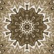 Abstract wavy background, mandala