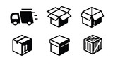 shipping icon - 72703034