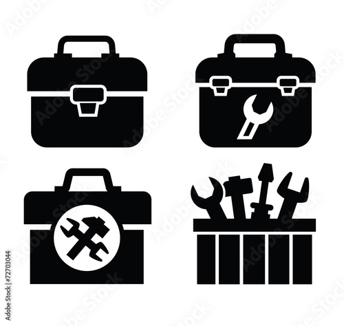 toolbox with tools - 72703044