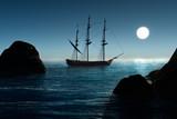 Fototapeta Pirate ship