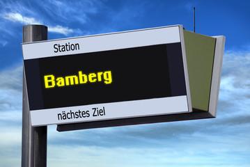 Anzeigetafel 6 - Bamberg