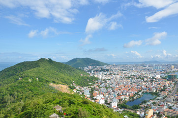 Vietnam city Vung Tau panorama