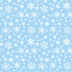 Winter seamless texture