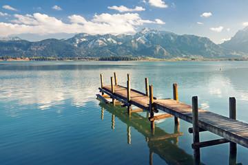 Herbst am See - Alpen
