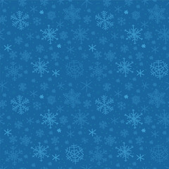 Winter seamless texture