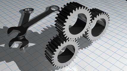 Service - mechaincs - gears