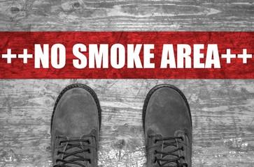 No Smoke Area