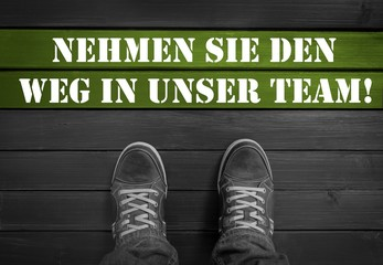 Jobangebot / Team / Mitarbeit