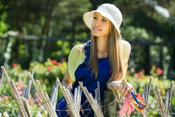 gardener in uniform
