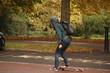Leinwandbild Motiv Skater
