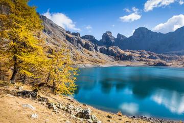Le Lac d'Allos, Mercantour