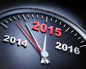 Uhr 2014 2015 2016