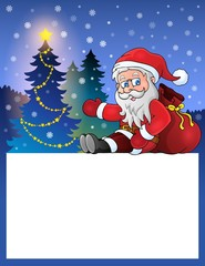 Small frame with Santa Claus 5