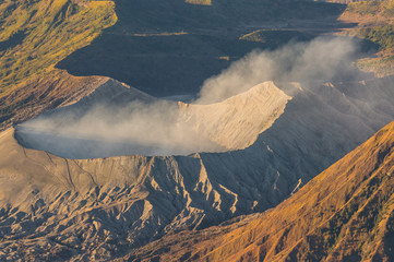 Bromo crater in the morning