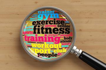 Fitness Konzept unter der Lupe